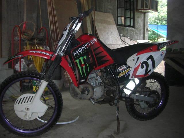 KAWASAKI KMX engine