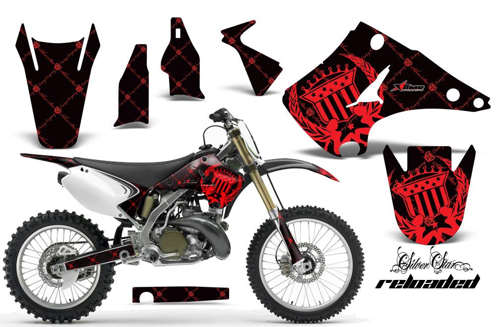 KAWASAKI KX 125 red