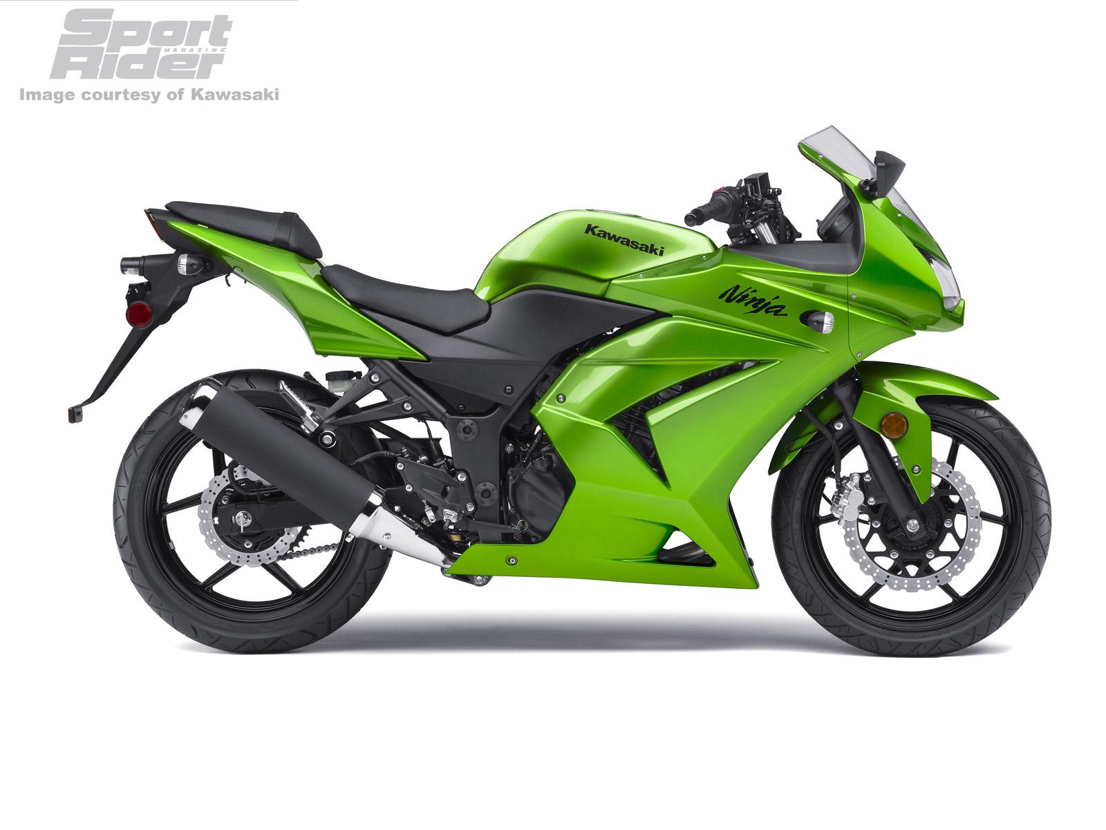 KAWASAKI NINJA -10R green