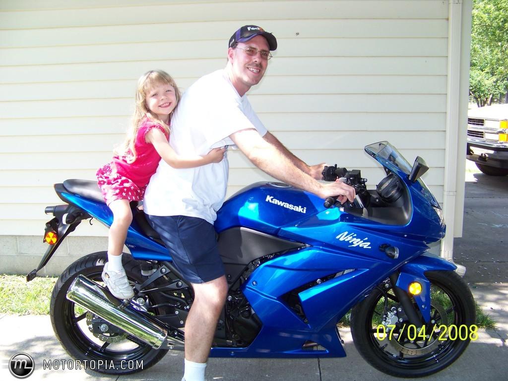 Kawasaki Ninja R Blue
