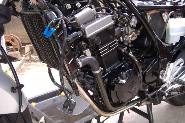KAWASAKI NINJA 250R engine
