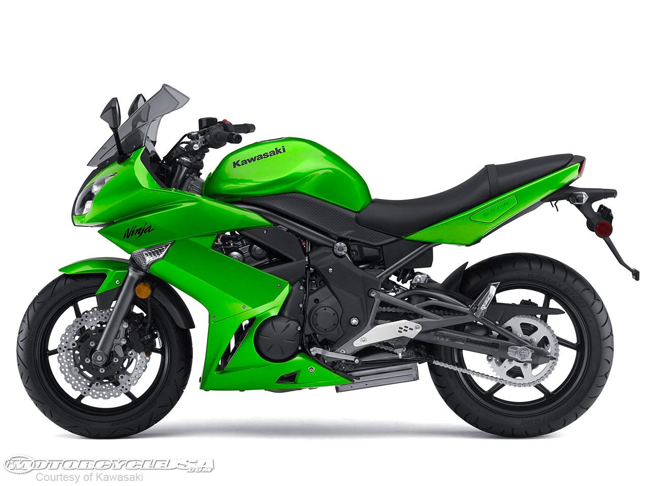 KAWASAKI NINJA 650R green
