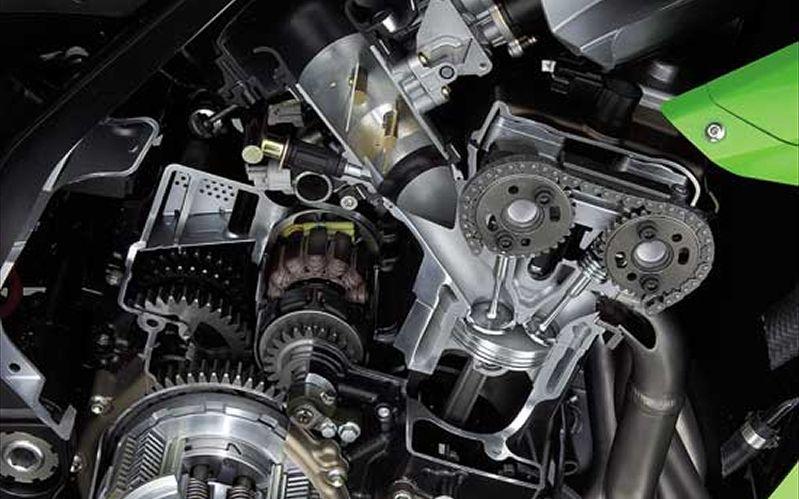 KAWASAKI NINJA ZX -6R engine