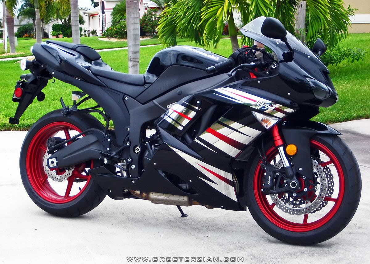 Kawasaki Ninja R Black And Red