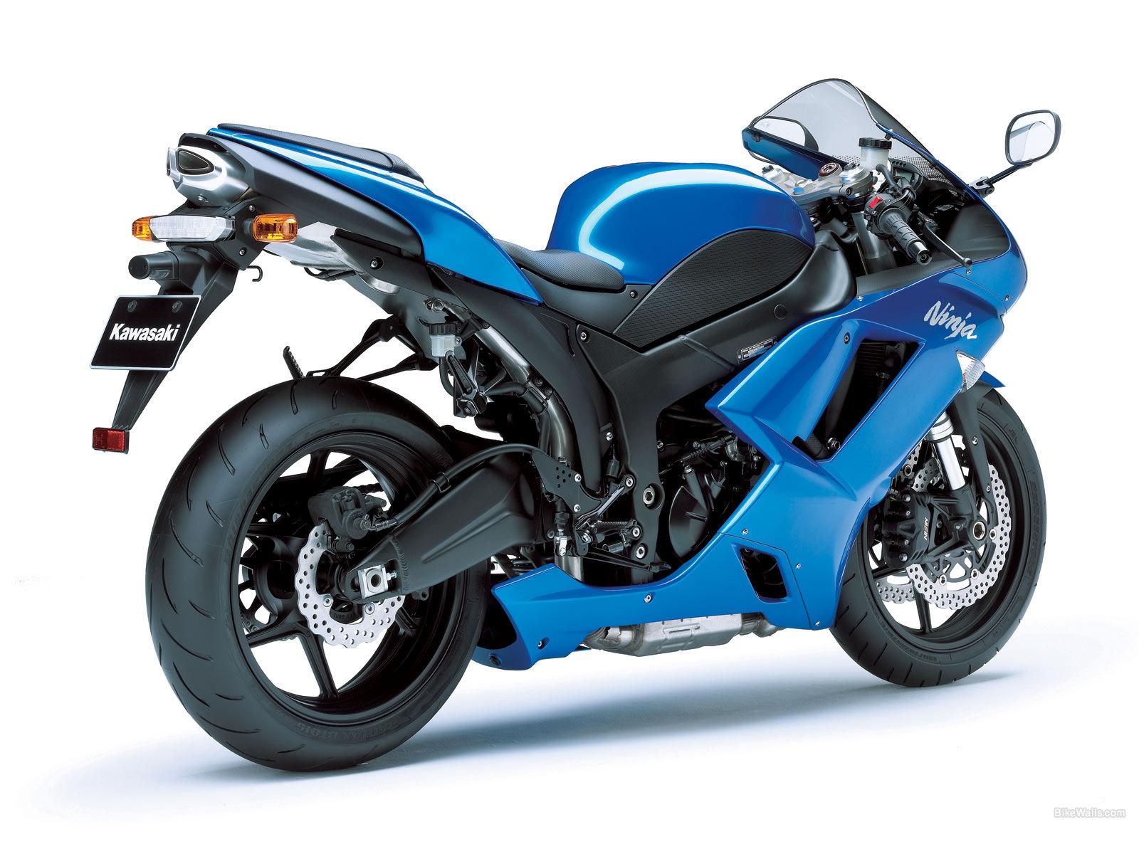 KAWASAKI NINJA ZX-6R blue