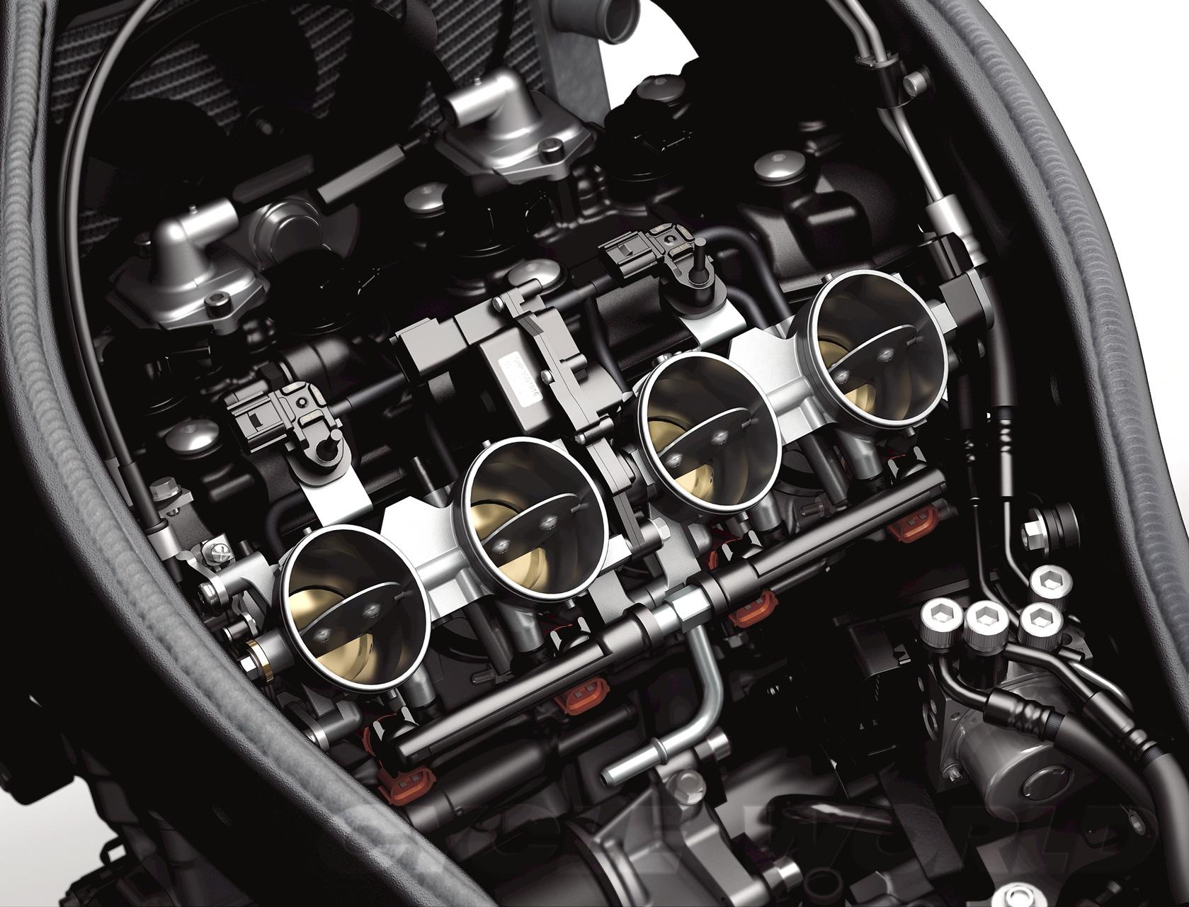 KAWASAKI NINJA ZX engine