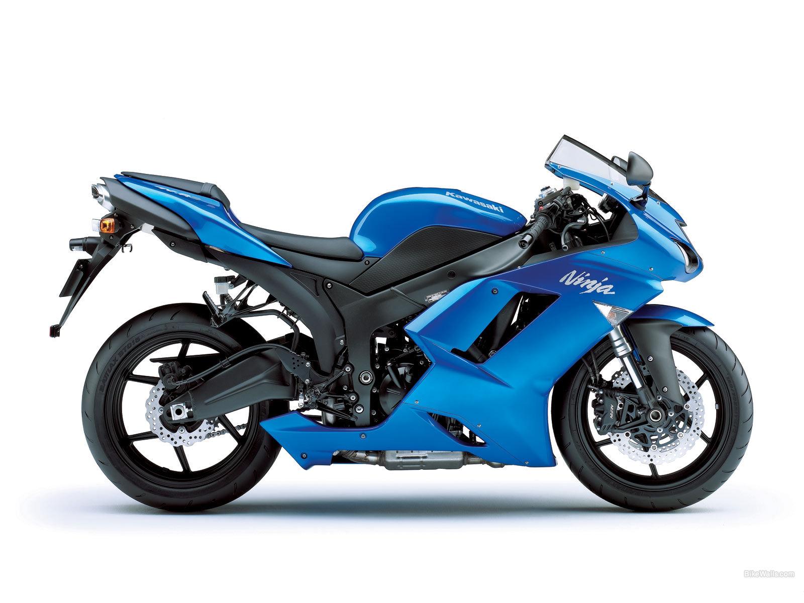 Red White An Blue  Kawasaki Ninja
