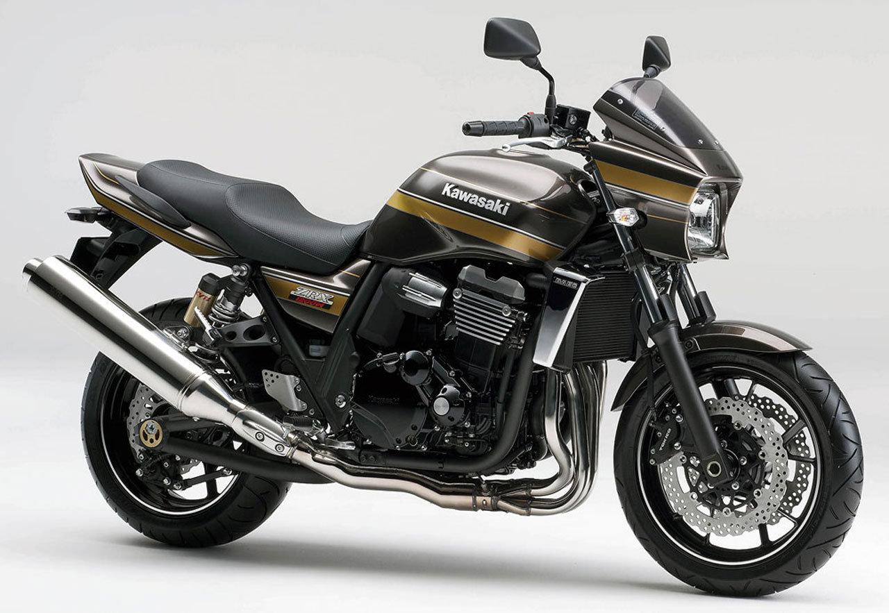 KAWASAKI ZRX 1200 brown