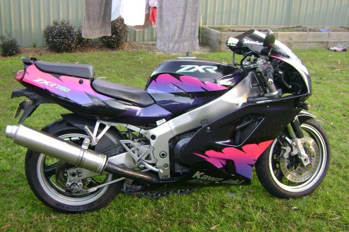 Kawasaki Zxr Black
