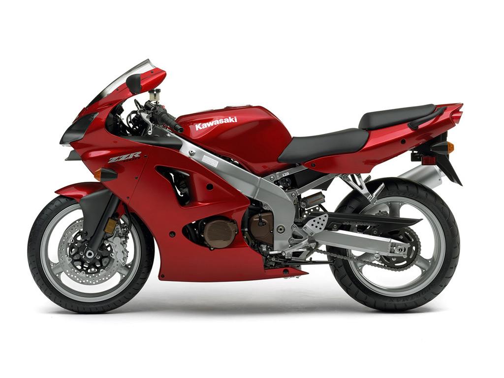 KAWASAKI ZZR600 red