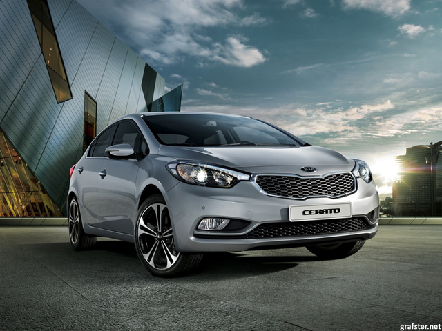 KIA CERATO 1.6 engine