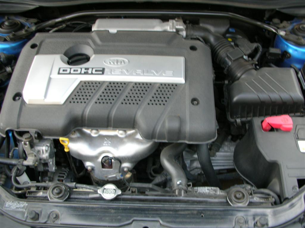 KIA SEPHIA engine