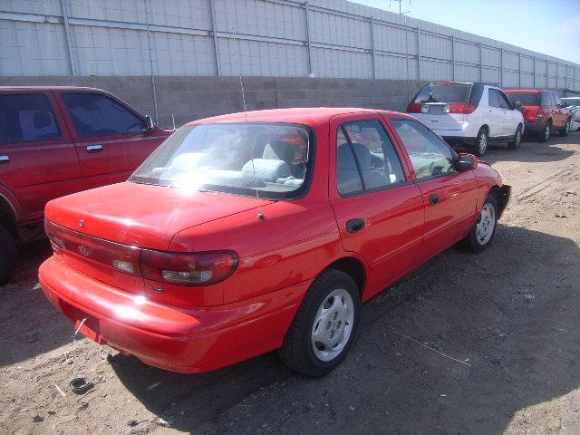 KIA SEPHIA red