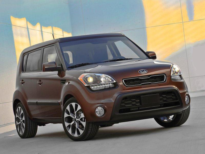 KIA SOUL 1.6 brown
