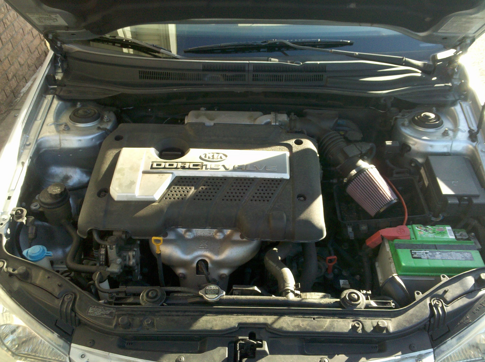 KIA SPECTRA engine