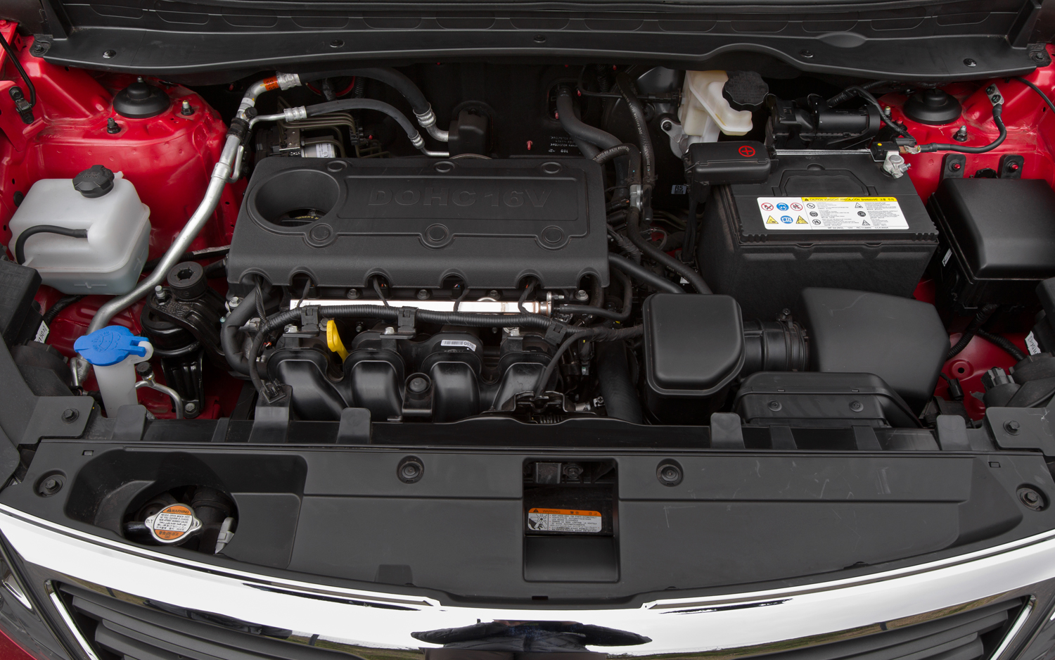 KIA SPORTAGE engine