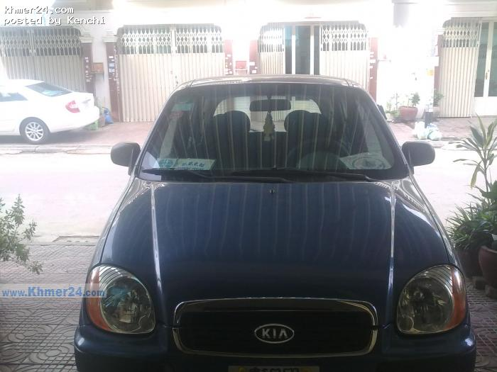 KIA VISTO blue