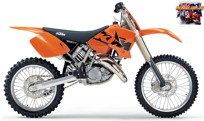 KTM 125 black