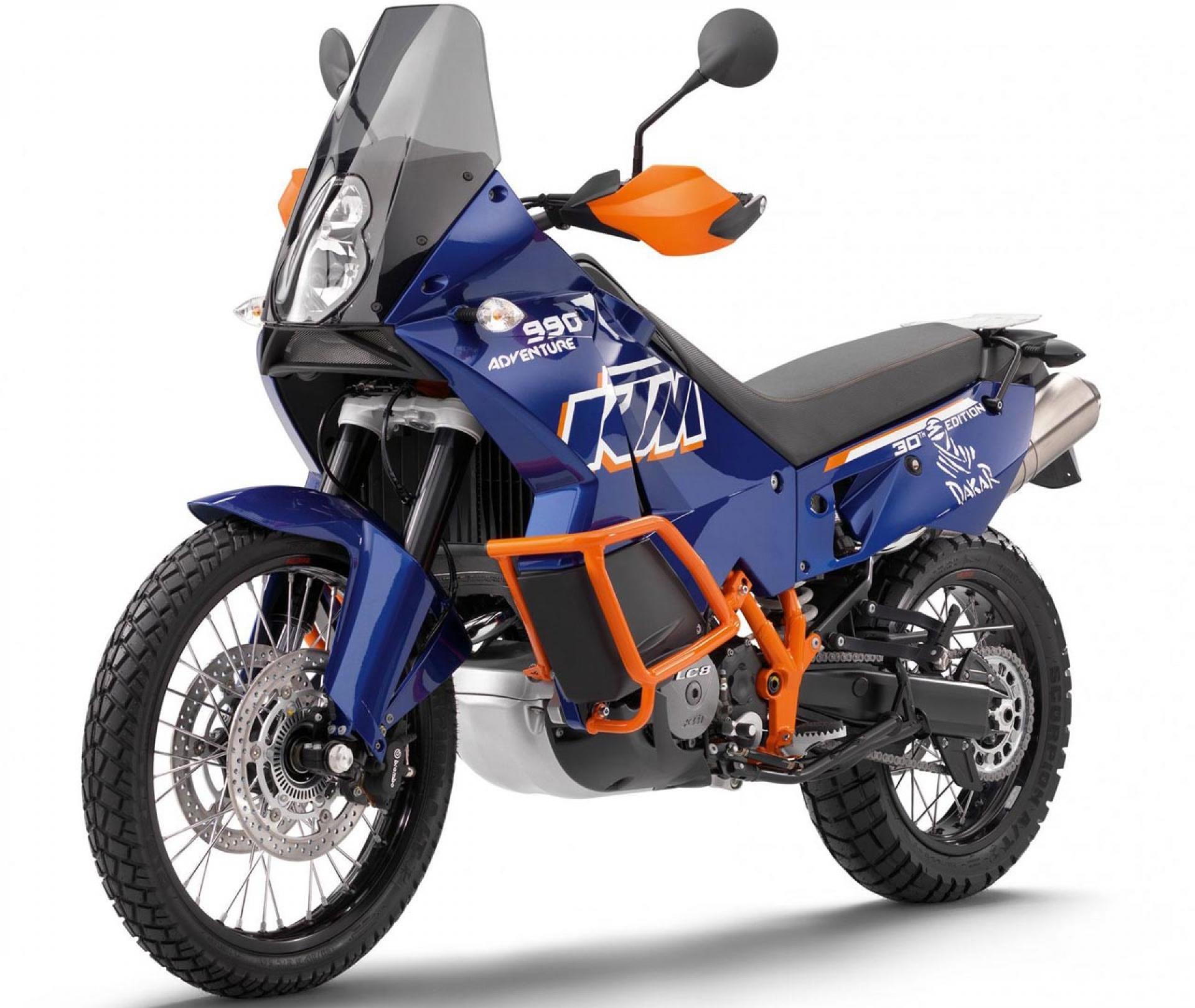 KTM 125 blue