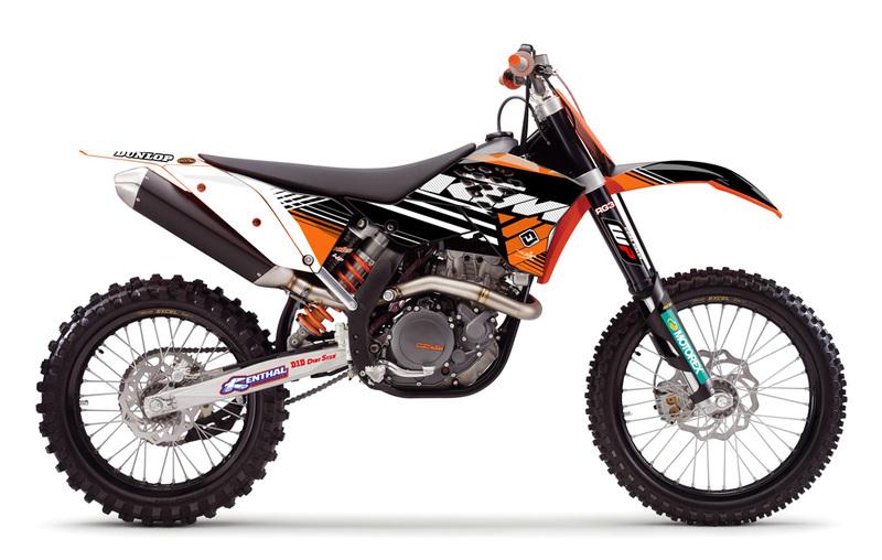 KTM 200 EXC white