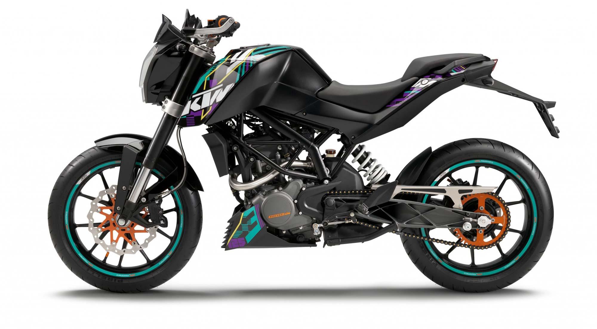 KTM 250 black