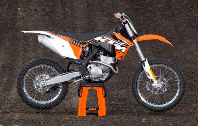 KTM 250 brown
