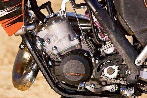 KTM 250 engine