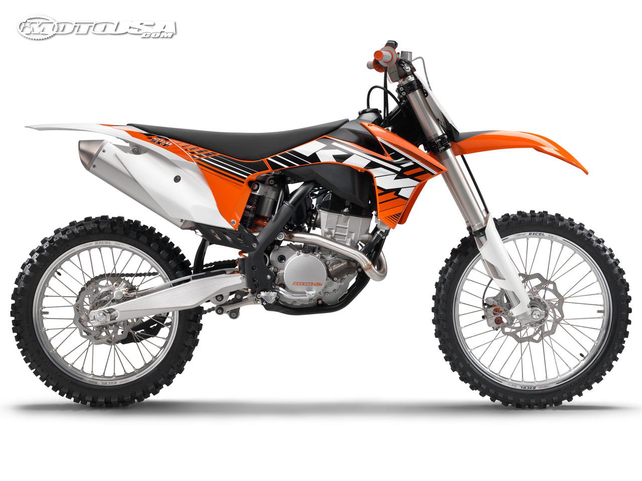 KTM 250 white