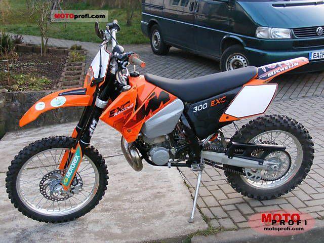 KTM 300 EXC engine