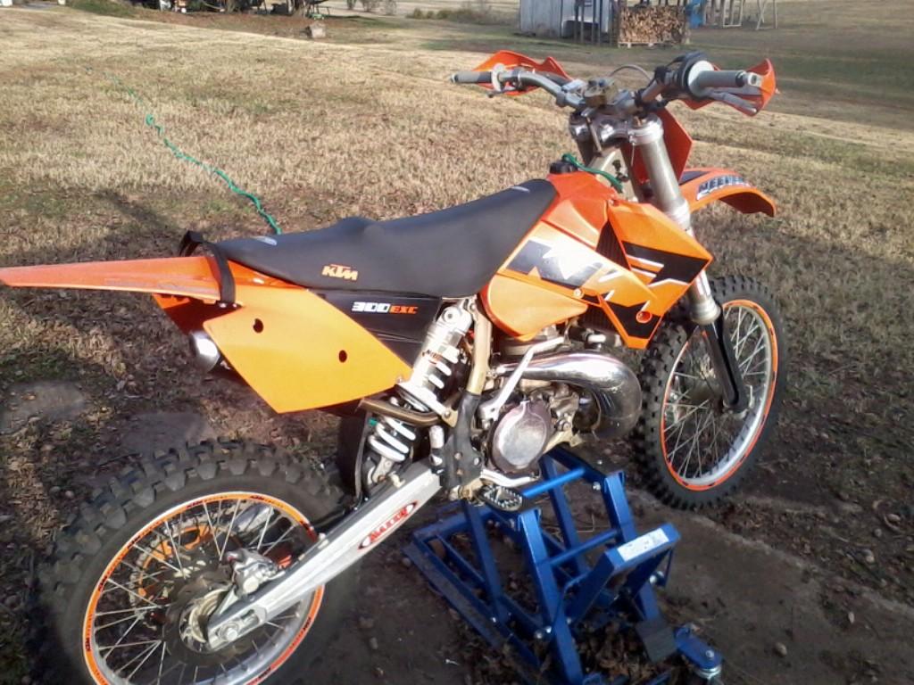 KTM 300 brown