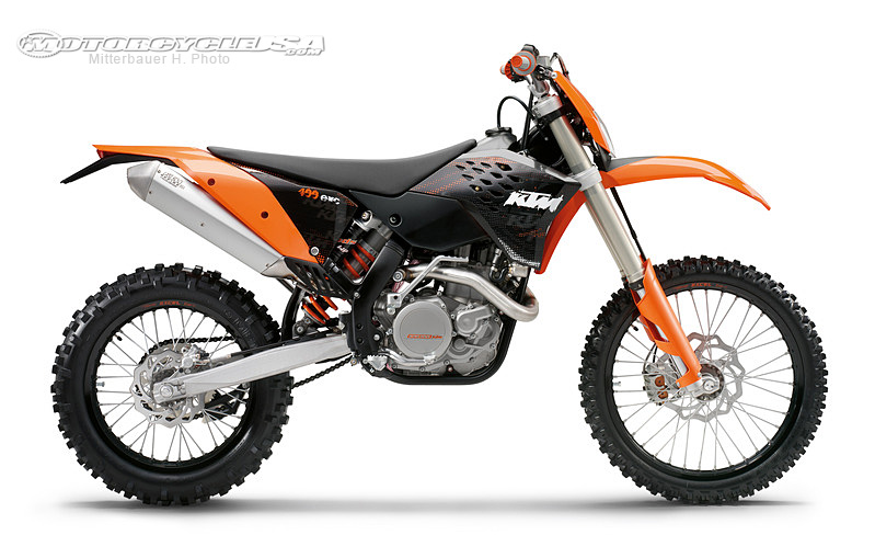 KTM 400 EXC black