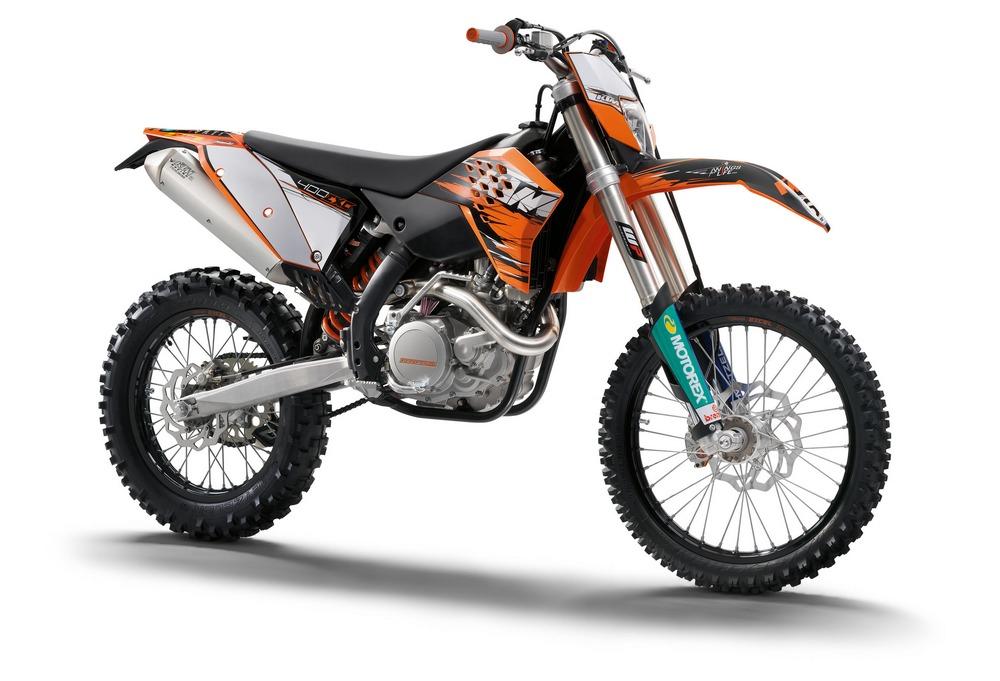 KTM 400 EXC silver