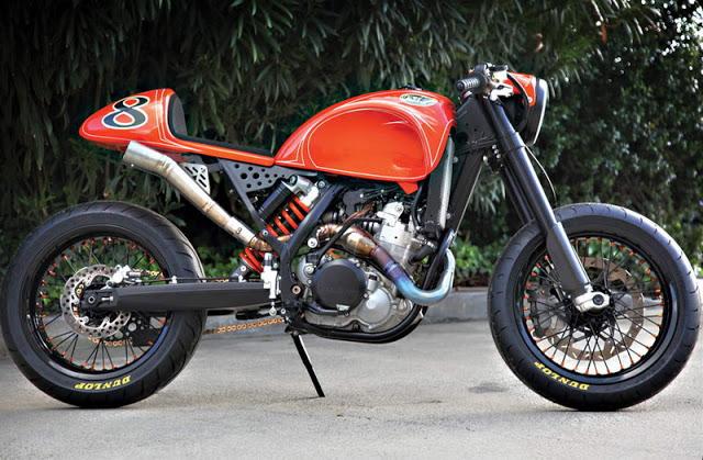 KTM 525 red