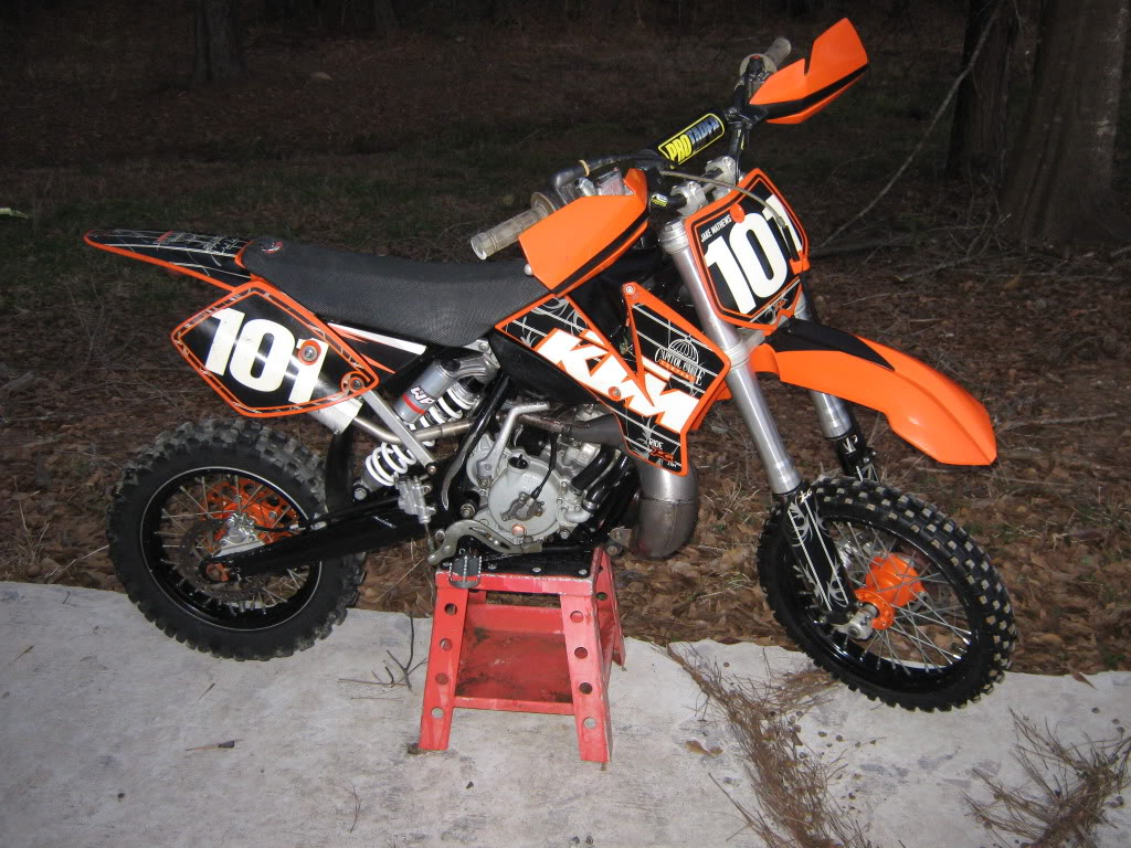 ktm 65 sx - review and photos