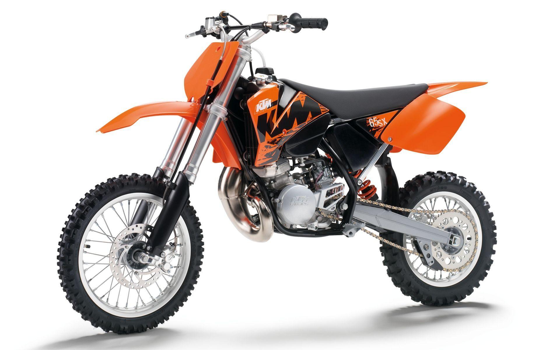 KTM 65 SX brown