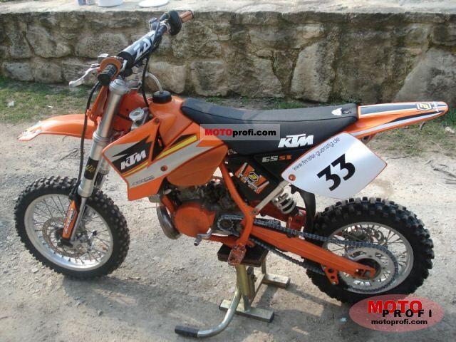 KTM 65 SX engine