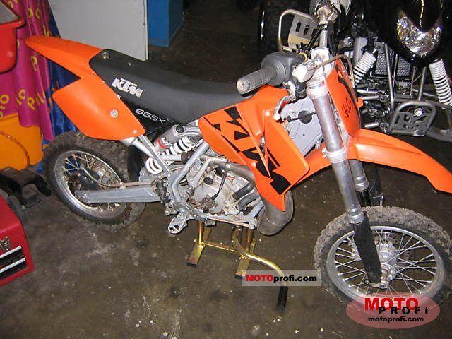 KTM 65 SX red