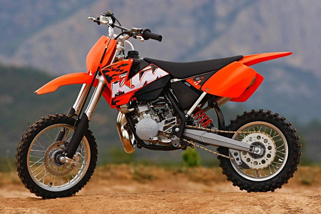 KTM 65 SX silver