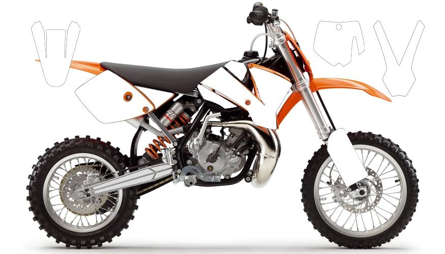 KTM 65 SX white