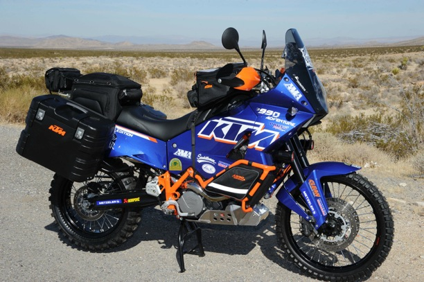 KTM ADVENTURE blue
