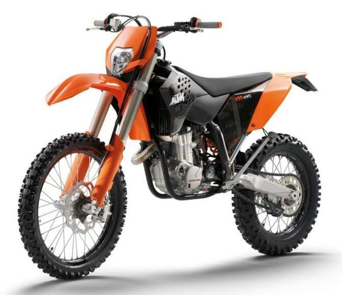 KTM EXC 400 black