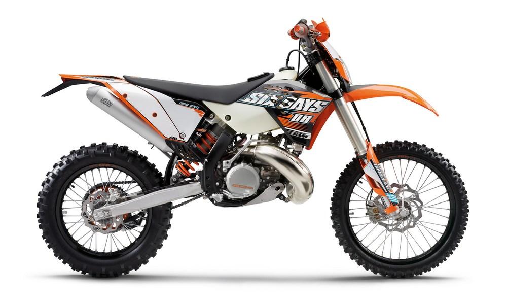 KTM EXC 400 brown