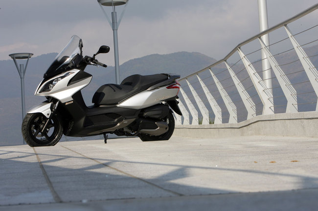 KYMCO DOWNTOWN 200I red