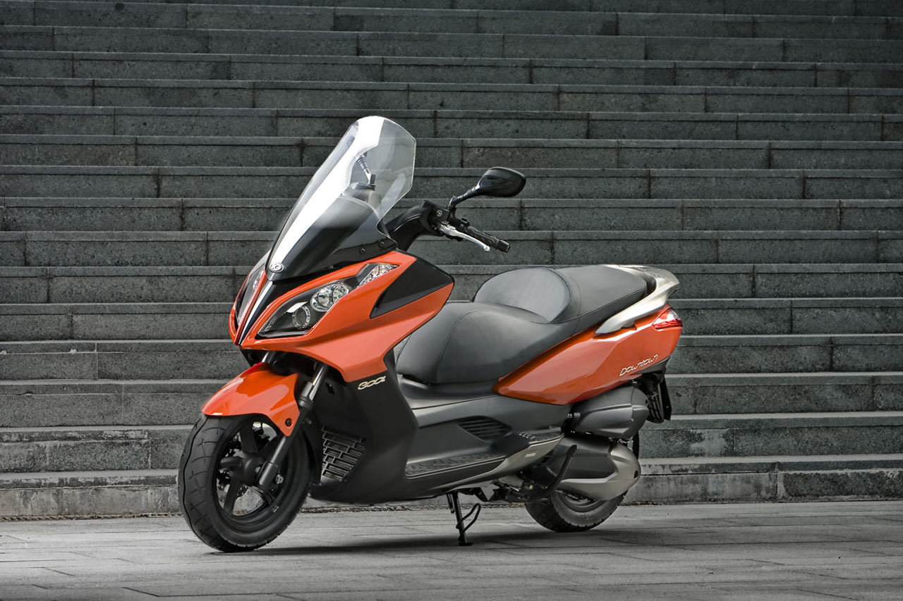 KYMCO DOWNTOWN red