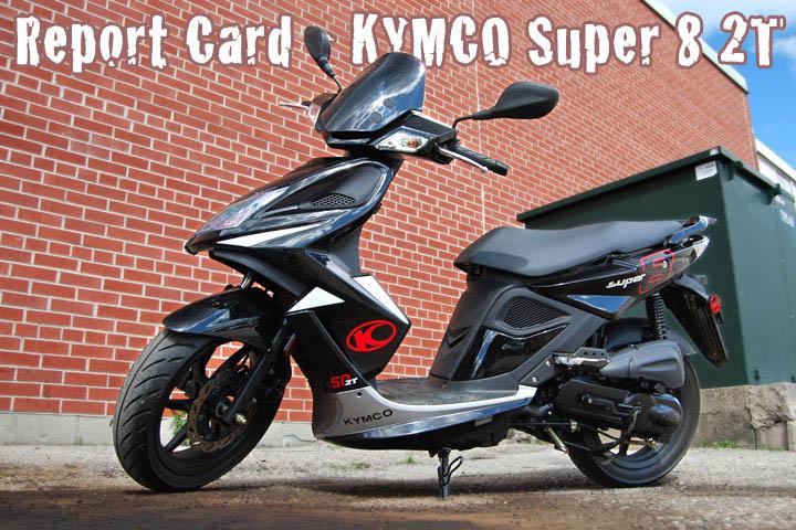 KYMCO SUPER 8 black
