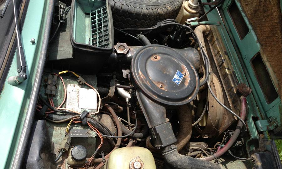 LADA (4X4) engine