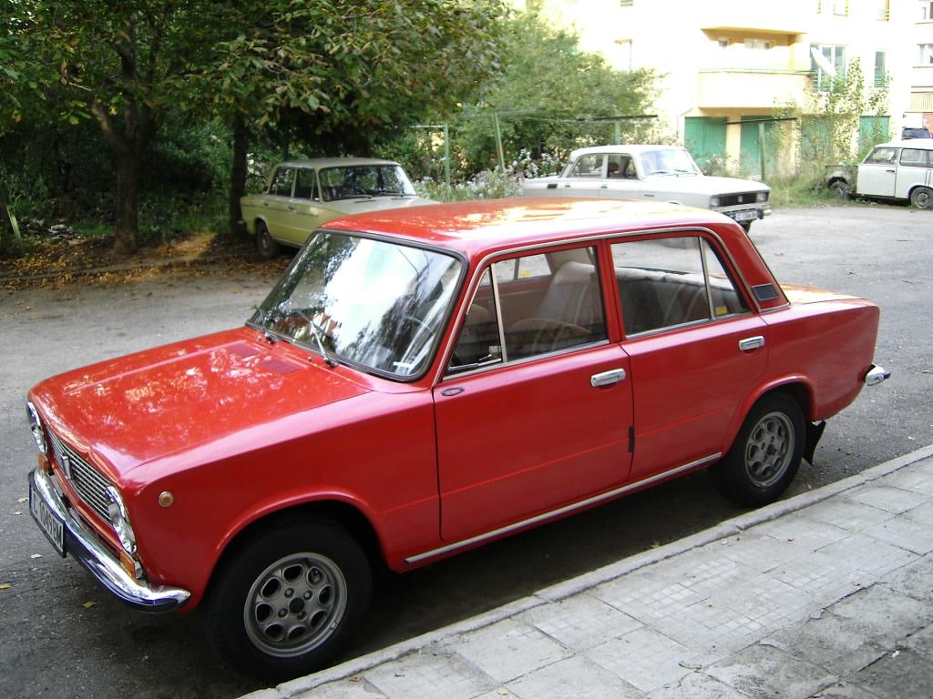 LADA (VAZ) 2101 red