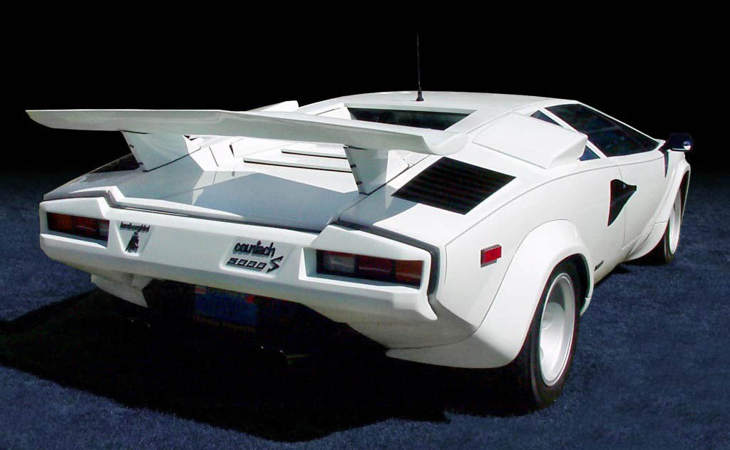 LAMBORGHINI COUNTACH 5000 blue