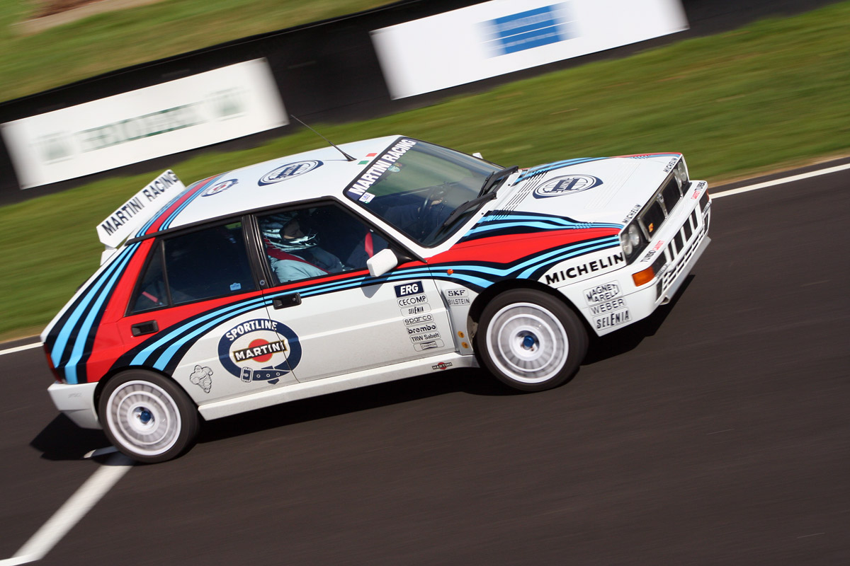 LANCIA DELTA (MARTINI) brown