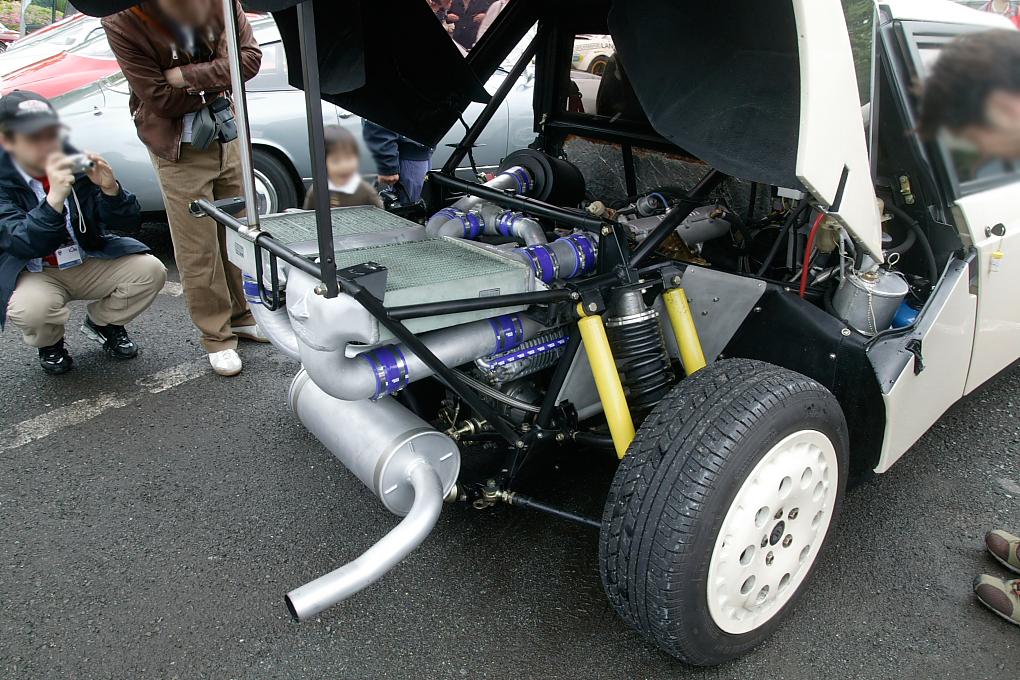 LANCIA DELTA S4 engine